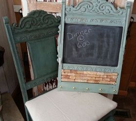 Merveilleux Chair Back Memo Board, Chalk Paint, Chalkboard Paint, Painted Furniture,  Repurposing Upcycling