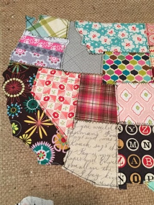 Fabric Scraps Make Something With It I Made A Scrap Map Crafts How To
