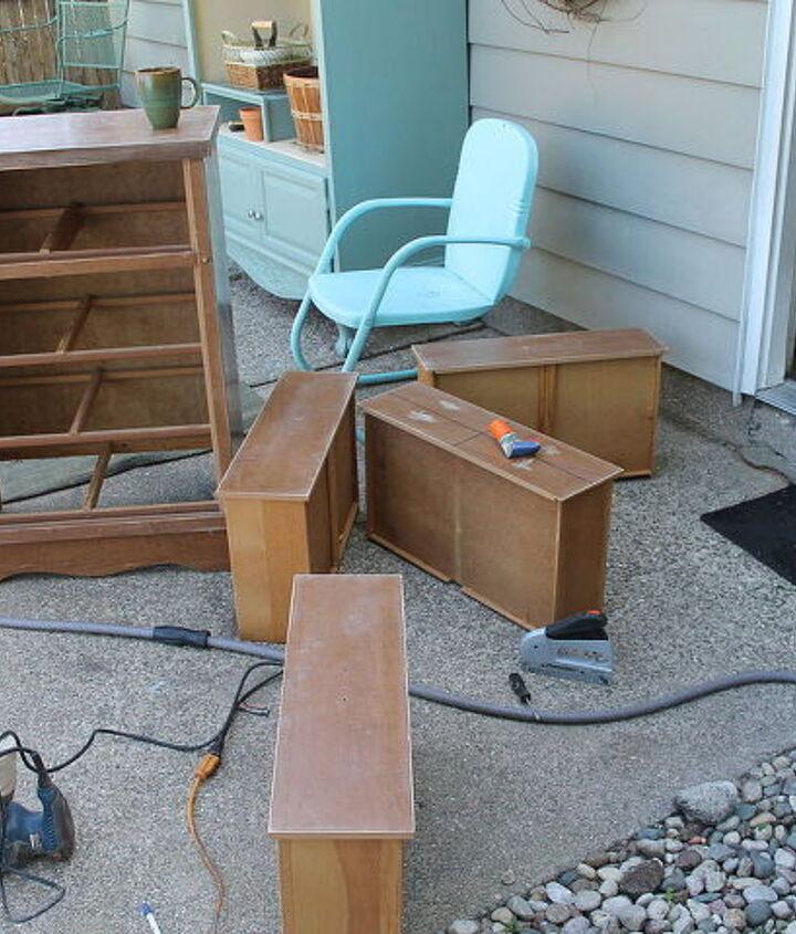 my diy old dresser redo, painted furniture