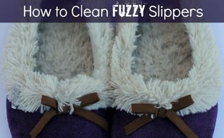 how to clean slippers, cleaning tips, how to, laundry rooms