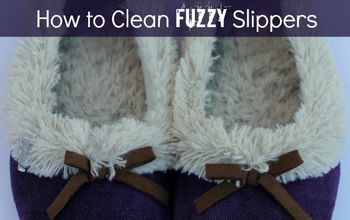 How to Clean Slippers