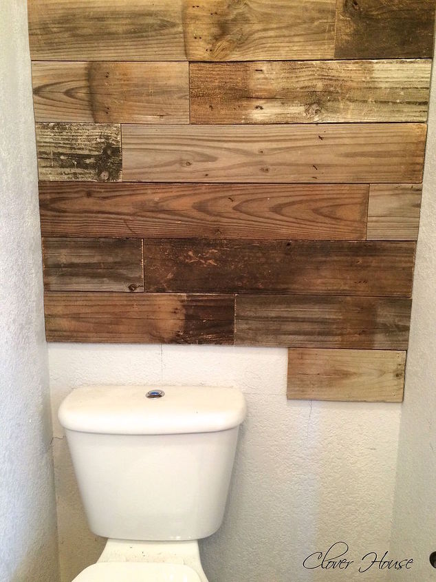Fence Picket Wall Bathroom Ideas How To Repurposing Upcycling Decor
