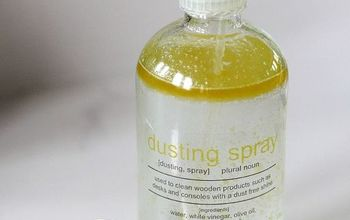 homemade lemon scented dusting spray, cleaning tips, go green, homesteading, how to