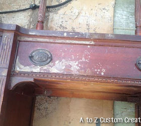 Saving And Transforming Water Damaged Furniture, Painted Furniture,  Repurposing Upcycling, Woodworking Projects