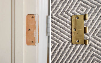 How To Fill Hinge Holes