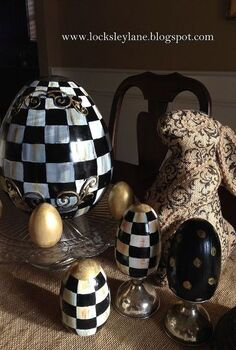 easter eggs mackenzie childs like, crafts, easter decorations, seasonal holiday decor