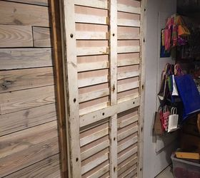 sliding doors on a budget doors how to pallet repurposing upcycling & Sliding Doors Using Pallets | Hometalk