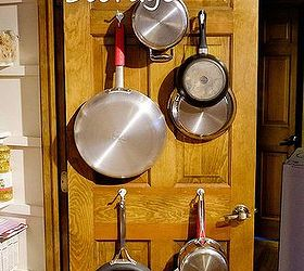 easy pan storage kitchen cabinets kitchen design organizing storage ideas & Easy Pan Storage on Pantry Door | Hometalk