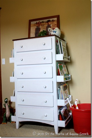 painted nursery do re just makeover paint with diy dresser redo it old furniture project bookshelf