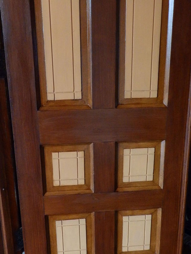 Porch door with 3 stages showing here