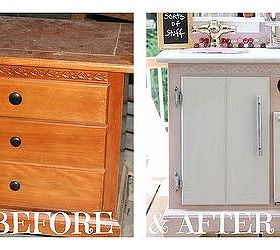 Play Kitchen Made From Old Nightstand, Bedroom Ideas, Painted Furniture,  Repurposing Upcycling