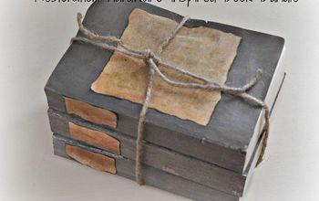DIY Restoration Hardware Inspired Book Bundle