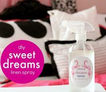 sweet dreams linen spray, bedroom ideas, crafts, how to, laundry rooms