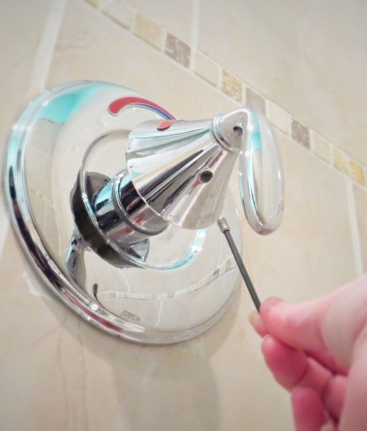easy peasy diy how to fix a too cold anti scald bath fixture, bathroom ideas, home maintenance repairs, how to, plumbing
