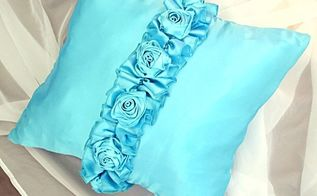luxurious designer knock off pillow cover tutorial, bedroom ideas, crafts, how to, reupholster