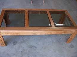 Updating Gl And Wood Coffee Table Hometalk