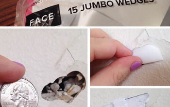 How I Patched a Drywall Hole With One of My Beauty Products