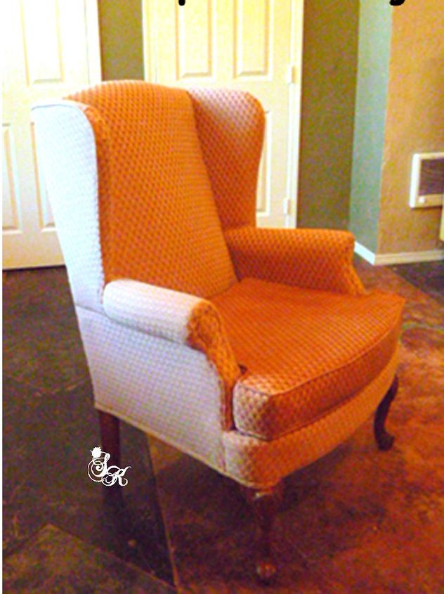 Painted Upholstered Armchairs | Hometalk