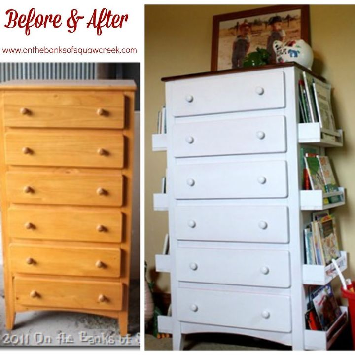 DIY Bookshelf Dresser Hometalk