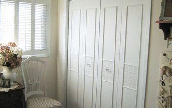 bi fold closet door makeover, closet, doors, how to, painting
