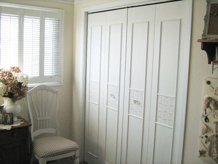 Bi Fold Closet Door Makeover Hometalk