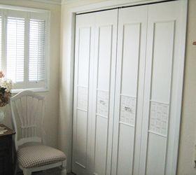 bi fold closet door makeover closet doors how to painting