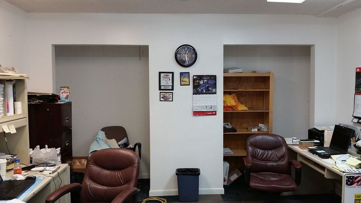 q office ideas help needed, doors, home office, organizing, shelving ideas, storage ideas