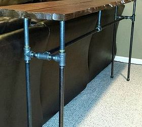 Diy Industrial Pipe Sofa Table, Diy, How To, Painted Furniture, Repurposing  Upcycling
