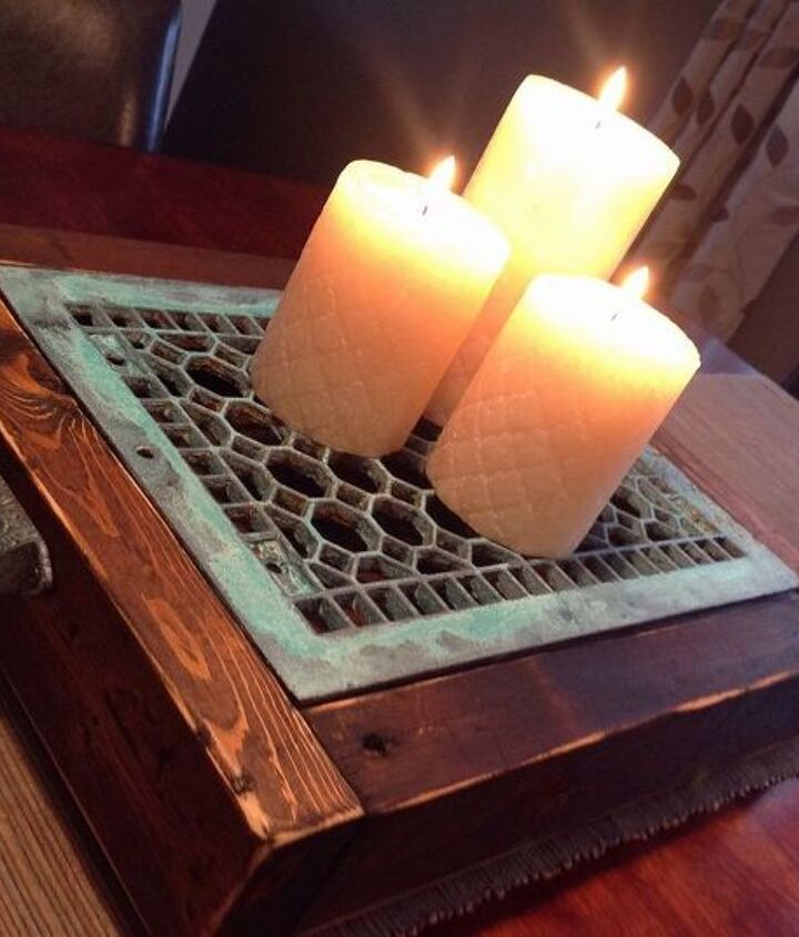 upcycled decor with modern masters metal effects paint, crafts, repurposing upcycling, woodworking projects