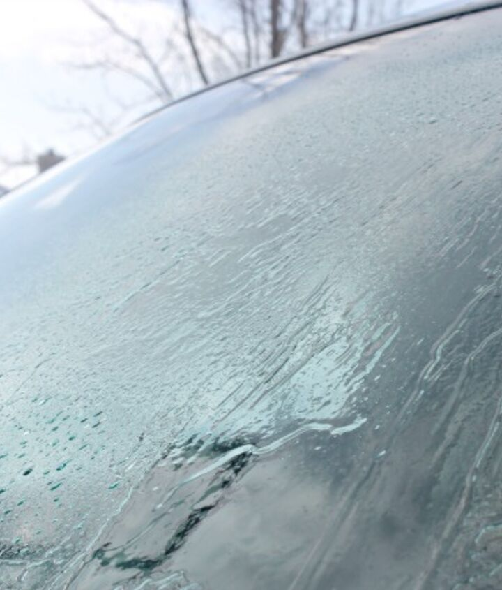 super fast 2 ingredient car de icing spray, cleaning tips, outdoor living