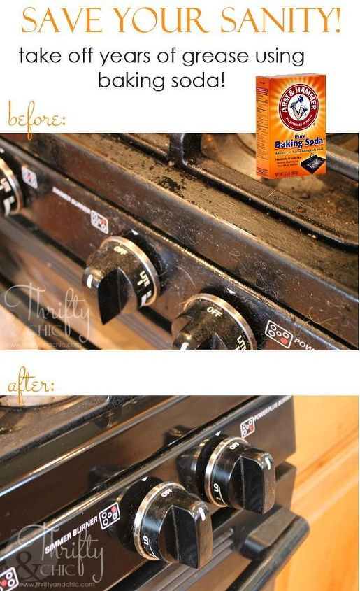how to clean years of grease off appliances, appliances, cleaning tips, how to