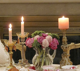 table for two a romantic tablesetting dining room ideas seasonal holiday decor valentines & Table For Two ~ A Romantic Tablesetting | Hometalk