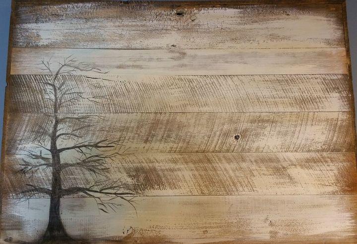 Wall Art on Barn Wood Siding   Hometalk
