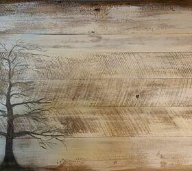 Beau Wall Art On Barn Wood Siding, Crafts, Wall Decor, Woodworking Projects