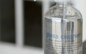 diy glass cleaner, cleaning tips, go green, how to