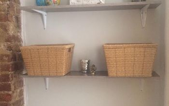 Hanging Shelves - A Small Room Storage Necessity!