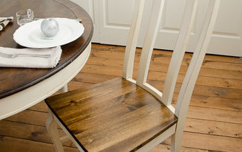 Turn Upholstered Dining Chair Seats Into Wood!