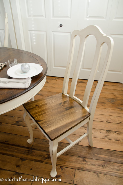 turn upholstered dining chair seats into wood hometalk