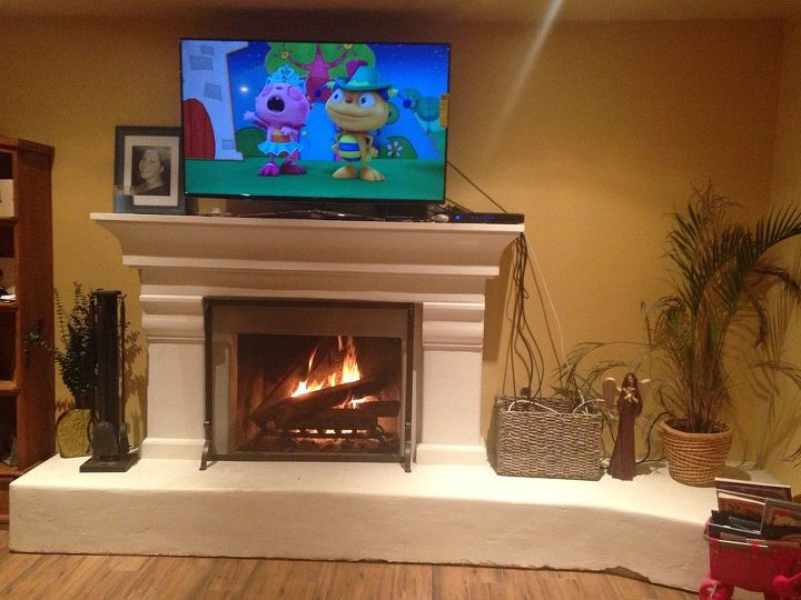 q new home help, fireplaces mantels, living room ideas