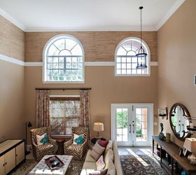 Vast Open Space What To Do About High Ceilings, Living Room Ideas, Paint  Colors ...