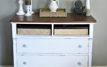 Rustic Charmer: From Dresser to Entryway Table
