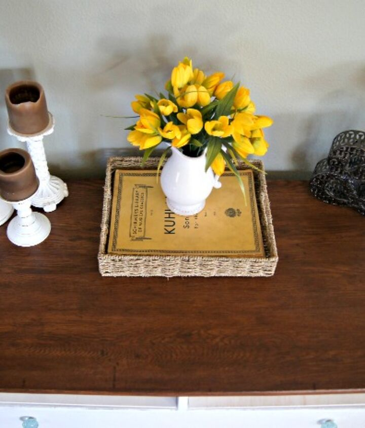 rustic charmer from dresser to entryway table, foyer, painted furniture, repurposing upcycling, rustic furniture