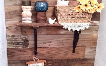 Fence Picket Shelf