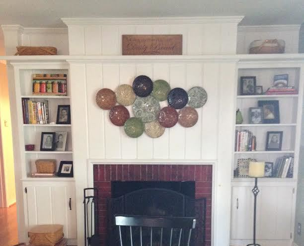 fireplace makeover building a mantel, diy, fireplaces mantels, how to, painting, woodworking projects, Before