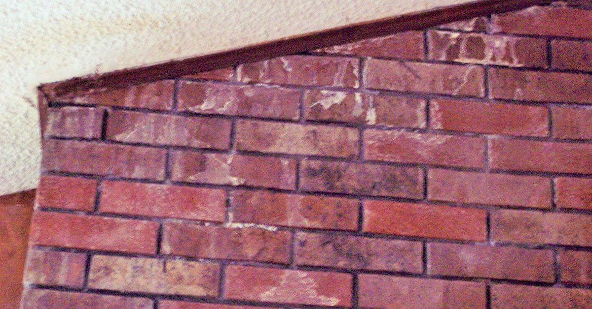 Moisture coming in around brick fireplace | Hometalk