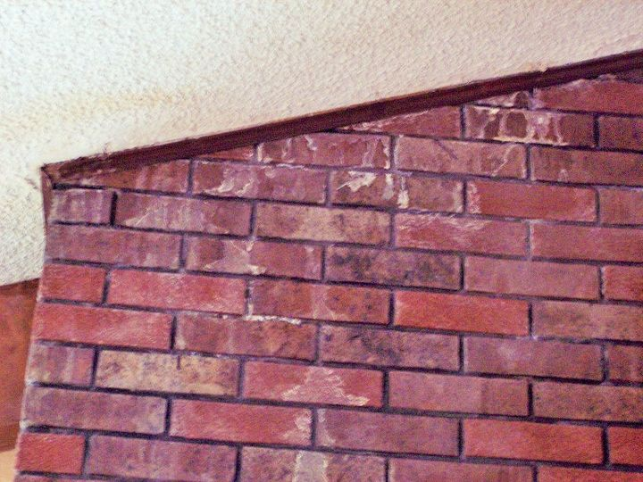 Moisture Coming In Around Brick Fireplace Hometalk