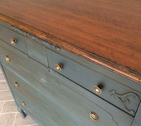 Awesome Stained Top Dresser, Chalk Paint, How To, Painted Furniture