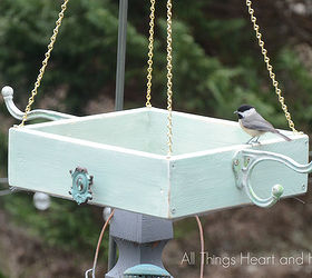 easy platform bird feeder crafts gardening pets animals woodworking projects