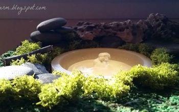Mossy Indoor Fountain