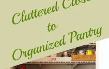 Create an Organized Pantry Out of a Coat Closet